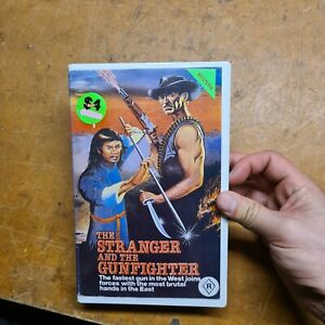 The Stranger and the gunfighter Western R18+ VHS Video Pacesetter Ex-RENTAL