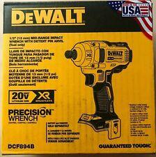 Dewalt DCF894B rango medio Llave de impacto 1/2 W Pin Nuevo 2 día envío Retén