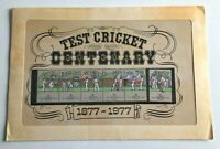 MAD295) Australia 1977 Test Cricket Centenary Stamp Pack