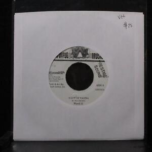 "Ward 21 - A Lot Of Vagina 7"" VG+ Vinyl 45 Awful AWM 014 Jamaica 2000"