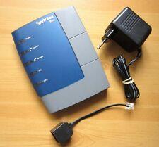 FRITZ! Box Fon AVM01036 ADSL-VoIP TK Anlage Computer Netzwerk Fritzbox+Netzteil