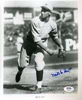 Waite Hoyt PSA DNA Coa Hand Signed 8x10 Photo Autograph