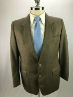 Hugo Boss Men's Beige Cashmere Wool Blend Blazer Jacket 40S