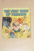 VINTAGE 1963 THE VERY BEST OF FRIENDS WHITMAN TELL A TALE CHILDREN BOOK
