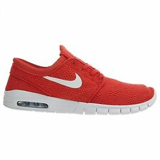 Nike SB Stefan Janoski Max Mens 631303-611 Track Red Skateboard Shoes Size 5.5