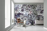 Giant paper wallpaper 368x254cm Shades Floral design wall mural for bedroom