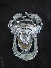 Victorian LADY'S HEAD con batacchio