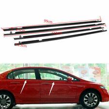 For Honda Civic Car Outside Window Moulding Weatherstrip Seal Belt 2006-11 4PCS