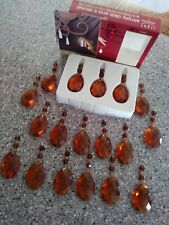 Chandelier Magnetic Light Charms, 18 Amber