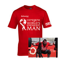 Worlds Strongest Man 2017 Competitor T Shirt as worn by Eddie Hall WSM S-XXL