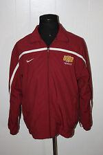 055b064ec1cf Team Issued Nike Minnesota Duluth Bulldogs Tennis Full Zip Windbreaker  Jacket M