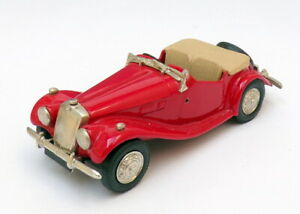 Western Models 1/43 Scale Model Car WMS12 - 1953 MG TF - Red
