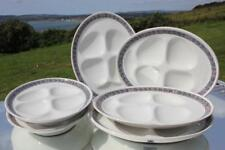 CUNARD LINE RMS MAURETANIA AQUITANIA 1ST CL WEDGWOOD SET OF SIX OYSTER DISHES