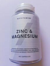 zinc & magnesium   90 capsules  my protein