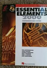 Essential Elements 2000 F Horn Book 2 with play-along Cd