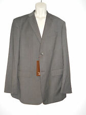Perry Ellis New Mens Principles Chocolate Blazer Classic Fit 44 Regular NWT