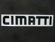 CIMATTI  DECAL STICKER MOTO GUZZI DUCATI MOPED LG AHRMA