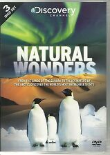 NATURAL WONDERS - 3 DVD BOX SET GREAT BARRIER REEF, SAHARA DESERT & ANTARCTICA