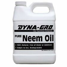 Dyna Gro Pure Neem Oil 8oz ounce - 100% organic natural leaf polish shine