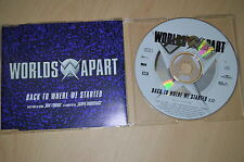 Worlds apart - Back to where we started. CD-Single (CP1708)