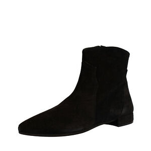 RRP €195 LE PEPITE Suede Leather Ankle Boots EU 38 UK 5 US 8 Made in Italy