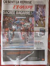 L'Equipe du 27/7/2002 - Tour de France : Hushovd - Foot la reprise -Cht natation