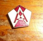 U.S.ARMY D.I. CREST, PATCH TYPE D.I. FIFTEENTH ARMY, PIN BACK, NO HALL MARK
