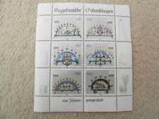 More details for postage stamps ddr mint minisheets