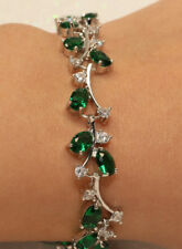 Rubyshire 18k White Gold Filled Bracelet with Diamond