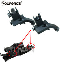 Flip Up Front&Rear Side Back Up Iron Sight 45 Degree  QD Rapid Transition BUIS