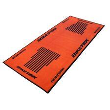Garage Pit Mat 190cm x 80cm Orange / Black Design