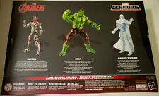 "Avengers Ultron Hulk Vision Marvel Legends 6"" Exclusive Collectors Edition 3pk"