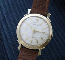 Retro Vintage Men's 1958 Hamilton Electric Dress Wrist Watch - SERVICED