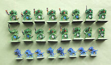 24 FIGS - SET OF 16 SAURUS & 8 SKINKS WELL PAINTED FIGURES ARMY COLLECTION NICE