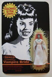 Custom made Vampire Bride Remco Mini Monster 3 3/4 Vintage Style Action Figure