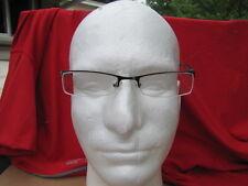 Tempo   Eyeglasses  LIGHT GRAY Metal Plastic Half Rim Rectangular 50-18-130
