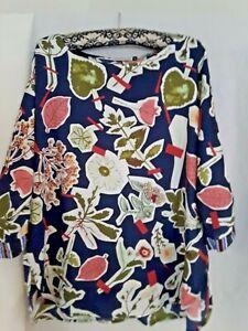 Zaket & Plover ladies multi coloured  top size XL