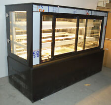 Refrigerated Bakery Showcase 47in Commercial Display Case Cake Cool Case 220V