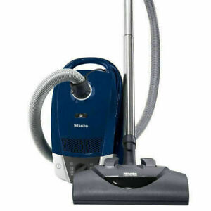 Miele Compact C2 Plus Electro Powerline Canister Vacuum Cleaner Blue