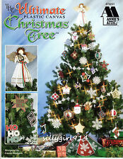 """""""THE ULTIMATE CHRISTMAS TREE""""~Annie's Plastic Canvas PATTERN BOOK~SEE PICS~NEW"""