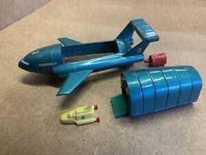 Vintage Dinky Toys No. 101 Thunderbird 2 & 4 Diecast Model 1960's Thunderbirds