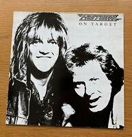 FASTWAY On Target ORIGINAL 1988 FRENCH PRESSING VINYL LP EDDIE CLARKE MOTORHEAD