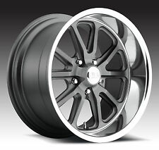 "CPP US Mags U111 Rambler Wheels Rims, 18x8 front + 20x9.5 rear, 5x4.75"", GRAY"