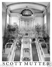 Scott Mutter Poster/Print /'Escalator to the Altar' 17x22 inch