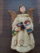 Vintage 1982-1989 June McKenna Collectible Flat Back Angel signed dated