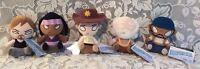 The Walking Dead AMC MICHONNE RICK DARYL HERSHAL TYREESE Plush  Mopeez Funko Set