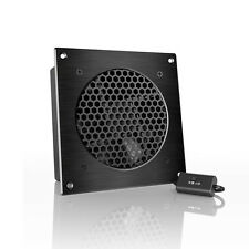 "AIRPLATE S3, Quiet Cabinet Fan 6"" for Home Theater AV Amplifier Media Cooling"