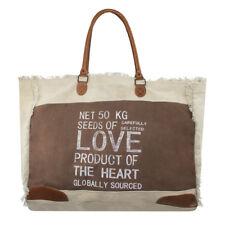Vintage Mars & More Einkaufstasche Tasche Shopper Back2Nature LOVE