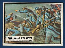 THE WILL TO WIN 1962 CIVIL WAR NEWS NO 68 NRMINT