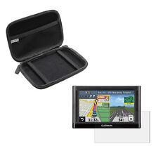 5'' Inch Portable Case Bag + Screen Protector For Garmin Nuvi 52 ( LT LM LMT )